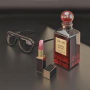 decorative accessories set Tom Ford 3d model