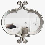 現代的な牧草地の壁鏡-長方形の形ATGD5526 3d model