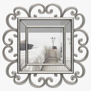 Beauchesne Curl Mirror ALTH3601 3d model