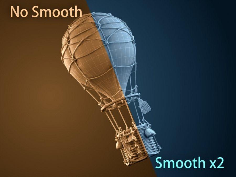 Balloon cartoon royalty-free 3d model - Preview no. 12