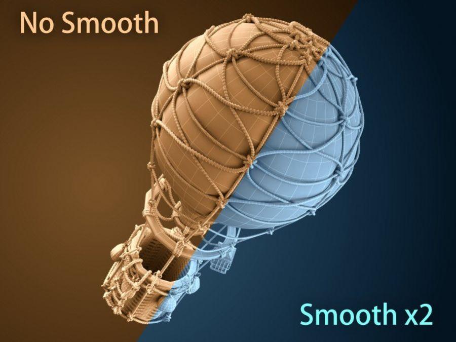 Balloon cartoon royalty-free 3d model - Preview no. 13