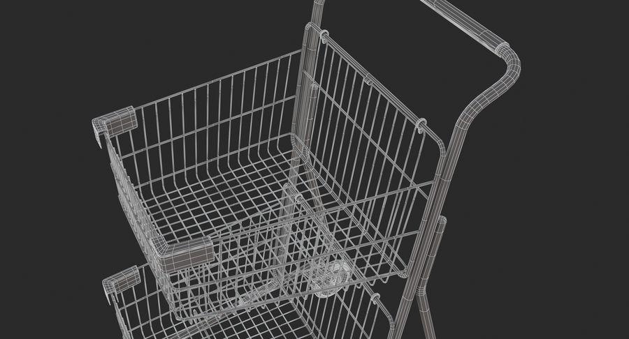Carrinho de supermercado 2 royalty-free 3d model - Preview no. 16