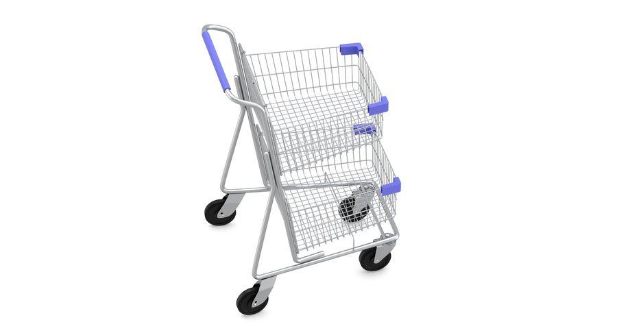 Carrinho de supermercado 2 royalty-free 3d model - Preview no. 6