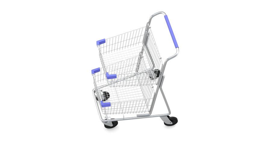 Carrinho de supermercado 2 royalty-free 3d model - Preview no. 7