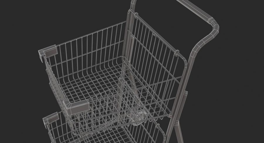 Carrinho de supermercado 2 royalty-free 3d model - Preview no. 15