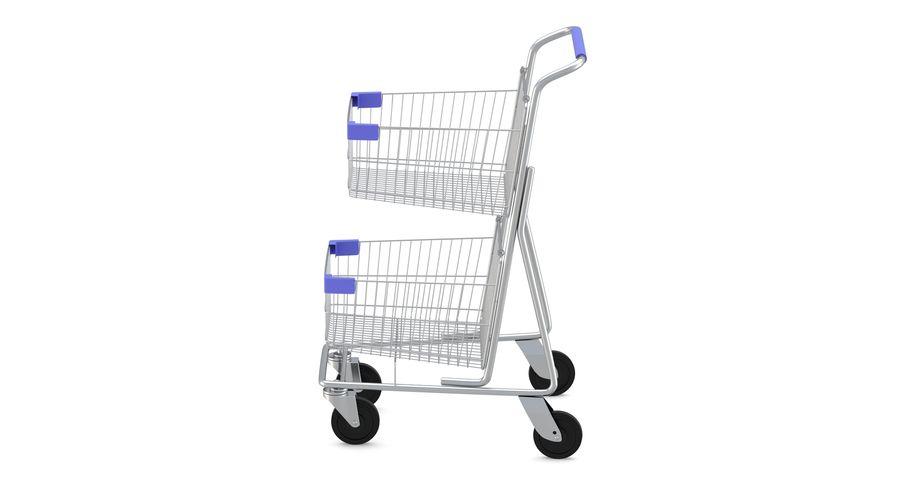 Carrinho de supermercado 2 royalty-free 3d model - Preview no. 2
