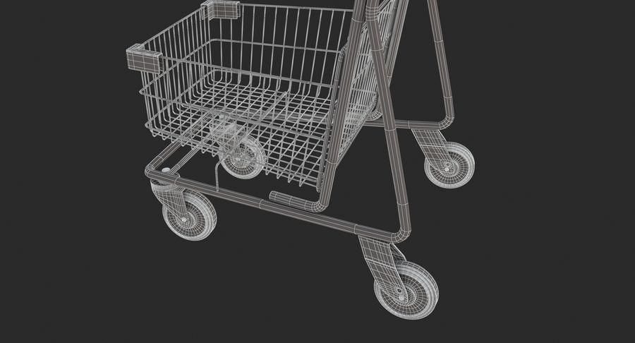 Carrinho de supermercado 2 royalty-free 3d model - Preview no. 14