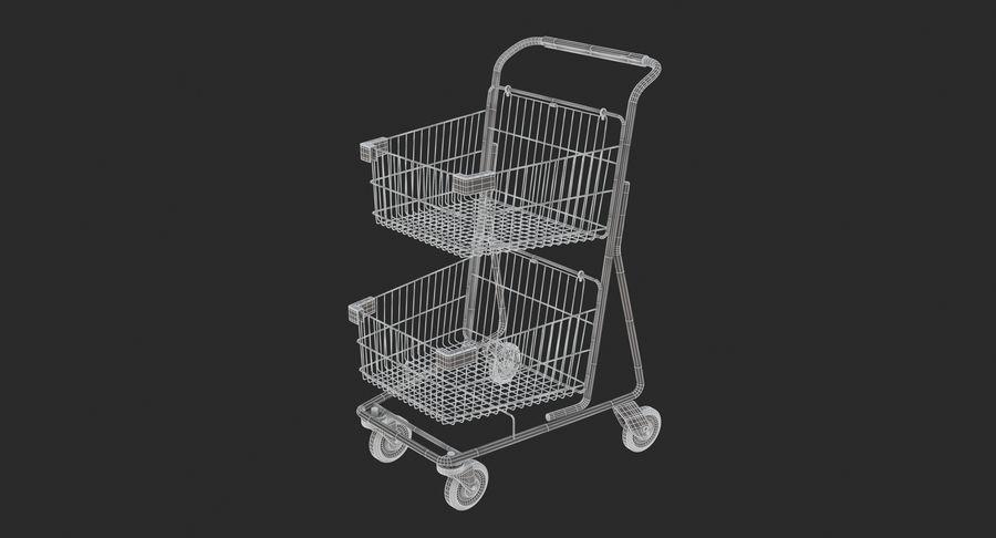 Carrinho de supermercado 2 royalty-free 3d model - Preview no. 10