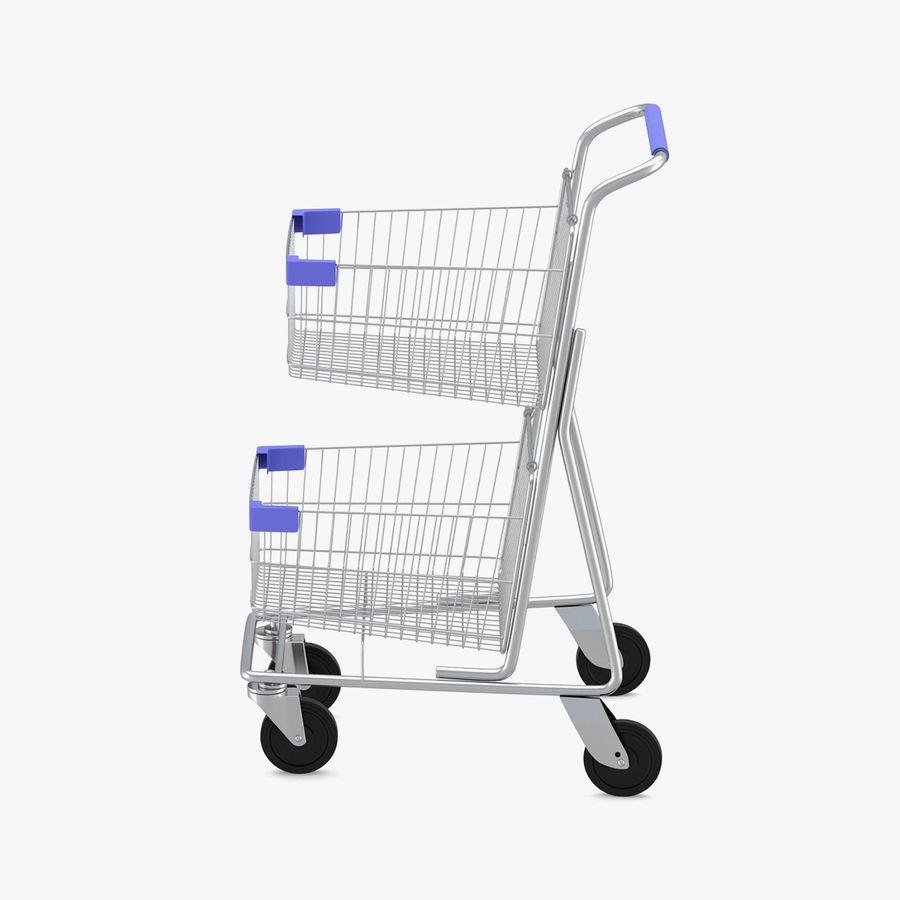 Carrinho de supermercado 2 royalty-free 3d model - Preview no. 1