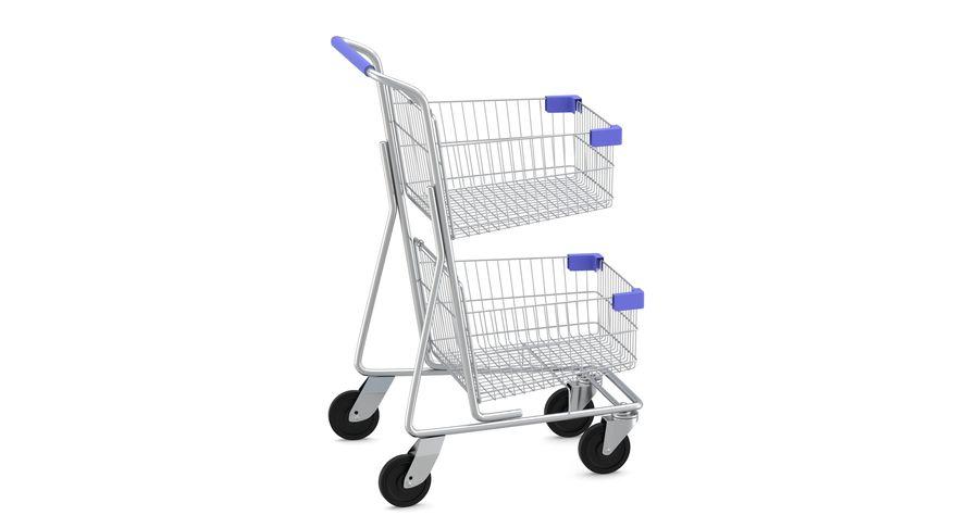 Carrinho de supermercado 2 royalty-free 3d model - Preview no. 4