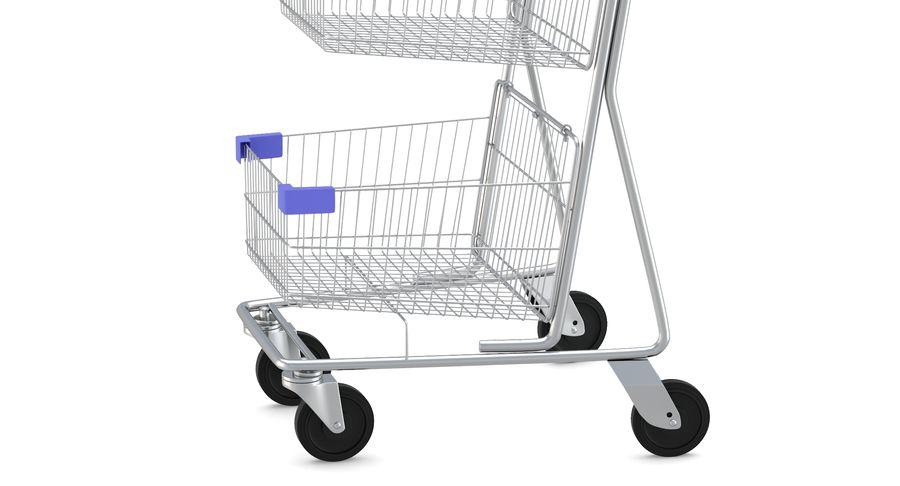 Carrinho de supermercado 2 royalty-free 3d model - Preview no. 8