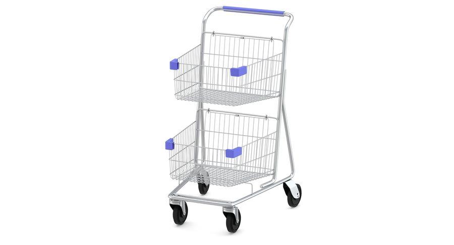 Carrinho de supermercado 2 royalty-free 3d model - Preview no. 5
