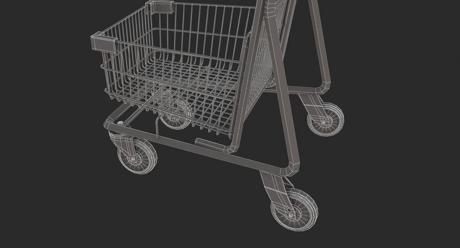 Carrinho de supermercado 2 royalty-free 3d model - Preview no. 13