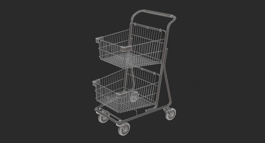 Carrinho de supermercado 2 royalty-free 3d model - Preview no. 9