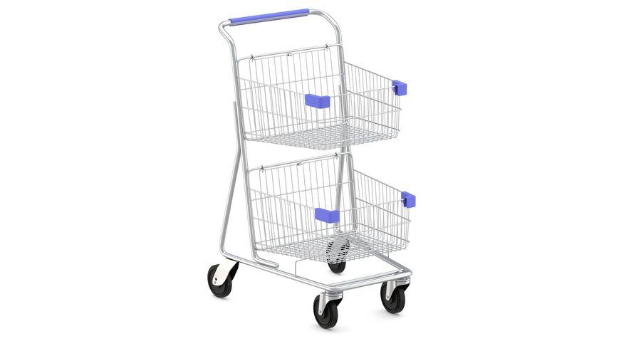 Carrinho de supermercado 2 royalty-free 3d model - Preview no. 3