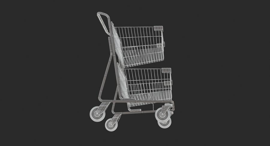Carrinho de supermercado 2 royalty-free 3d model - Preview no. 12