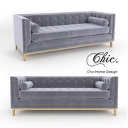 Chic Home Vigan Sofa 3d model