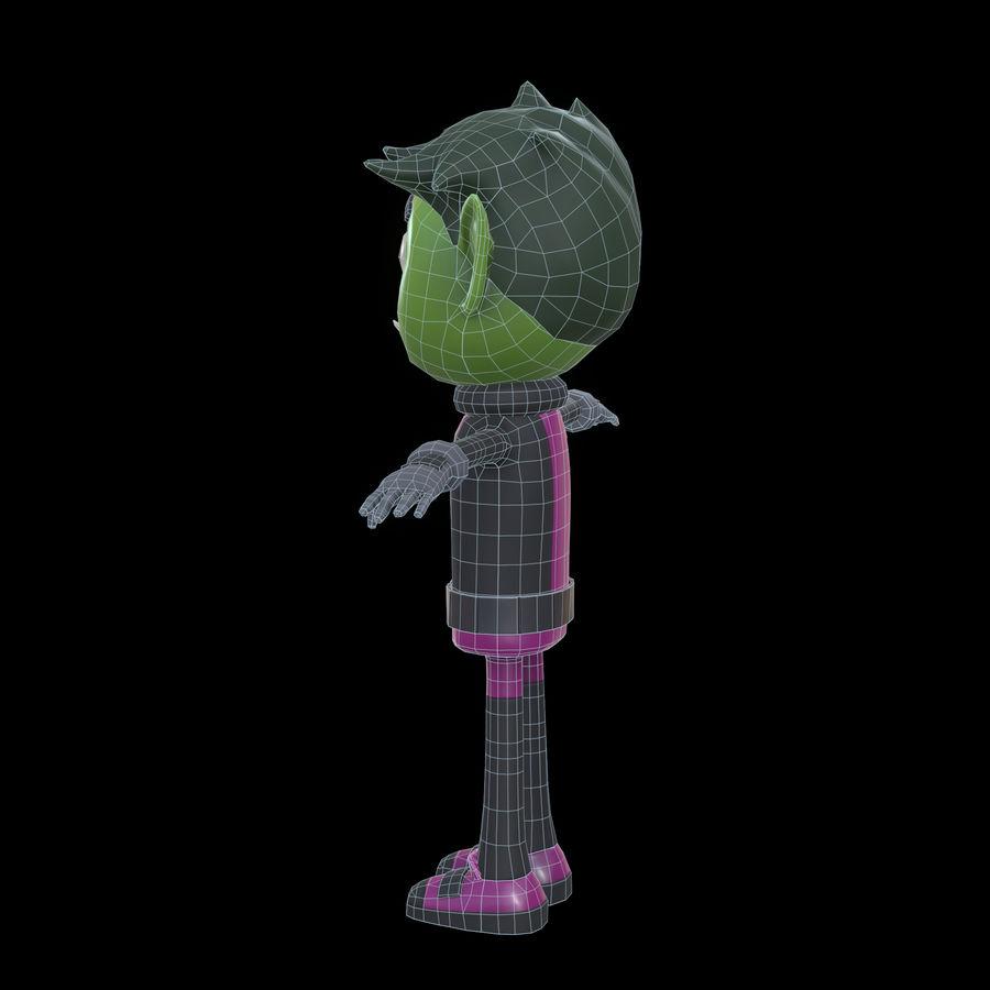 野兽男孩 royalty-free 3d model - Preview no. 18