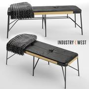 ALBUM BENCH  Industry West 3d 3d model