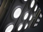Hanging Studio Light Fixtures 2-pack 3d model