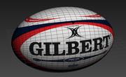 ギルバートラグビーボール 3d model