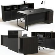 Zestaw mebli biurowych 3d model