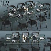 Glas Italia表套装 3d model