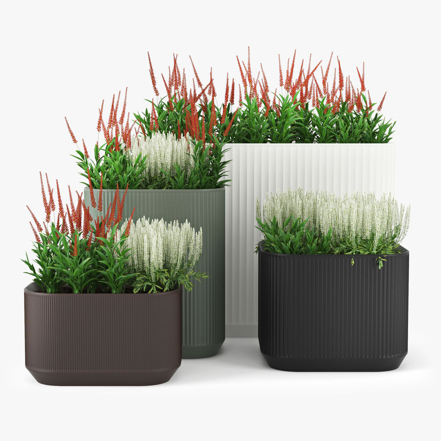 Urbilis Mod Planter royalty-free 3d model - Preview no. 2