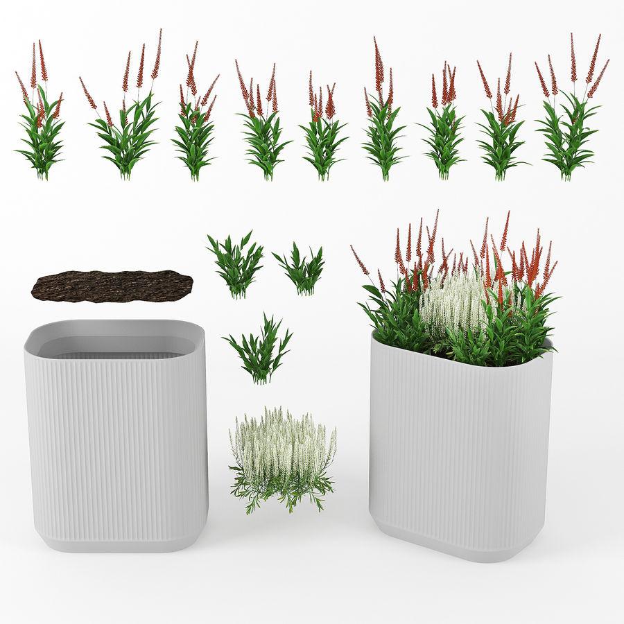 Urbilis Mod Planter royalty-free 3d model - Preview no. 6