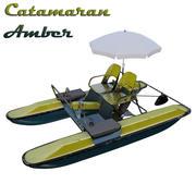 Catamarã Yantar (bicicleta aquática) 3d model