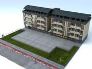 Mieszkanie Oslo 3d model