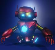 Robô 3d model