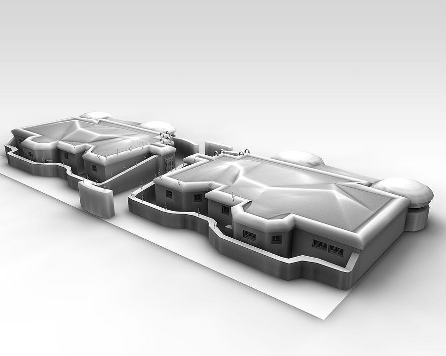 陣地壕 royalty-free 3d model - Preview no. 6