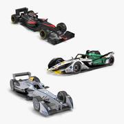 Formula Cars Collection de modèles 3D 2 3d model
