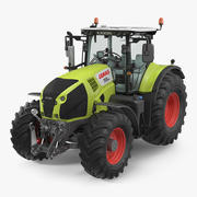 Traktor Claas Axion 800 3d model