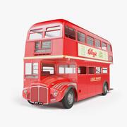 London Routemaster Bus 3d model
