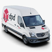Mercedes-Benz Sprinter DPD 3d model