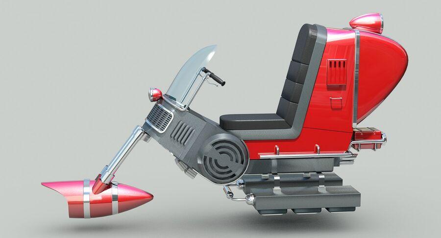 Antigravitational Concept Bike royalty-free 3d model - Preview no. 5