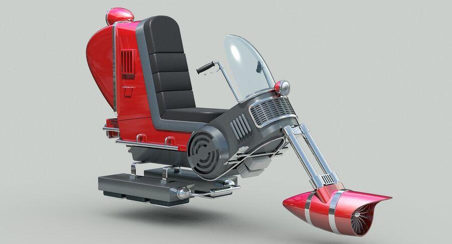 Antigravitational Concept Bike royalty-free 3d model - Preview no. 9