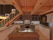 Norwegian Cozy Cabin. 3d model