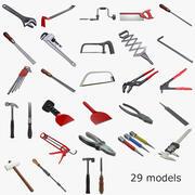 Coleção de ferramentas 3d model