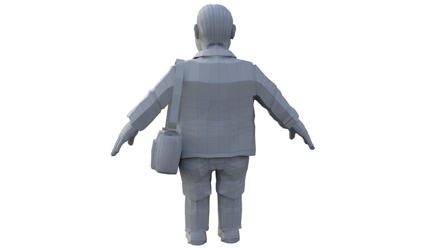 character royalty-free 3d model - Preview no. 6