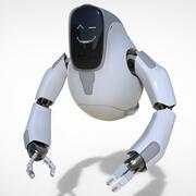 Робот-дроид 3d model