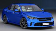 Generic Sedan 2017-2020 3d model