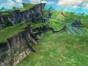 Scena di montagna 3d model