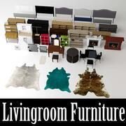 Livingroom Collection 3d model