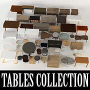 Collection de tables 3d model