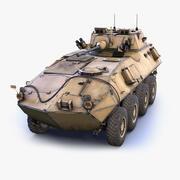 Leichtes gepanzertes Fahrzeug LAV-25 3d model