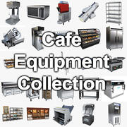 Cafe Equipment Collection 3d model