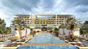 Revit Hotel Resort 3d model